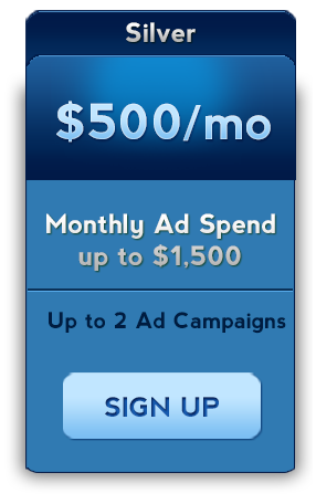 facebook advertising 500 dollars a month service package