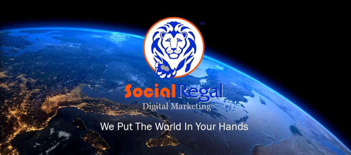 social regal digital marketing logo